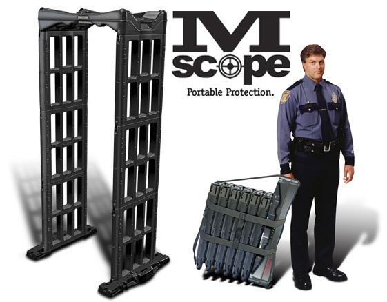 Arco de seguridad portátil M-Scope de Fisher