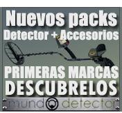 Packs para detectores de metales