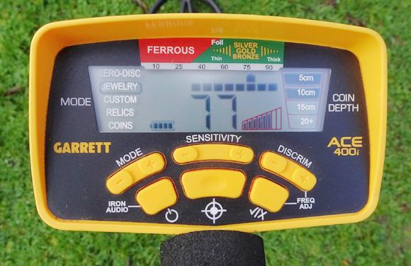 Detector Garrett ACE 400i