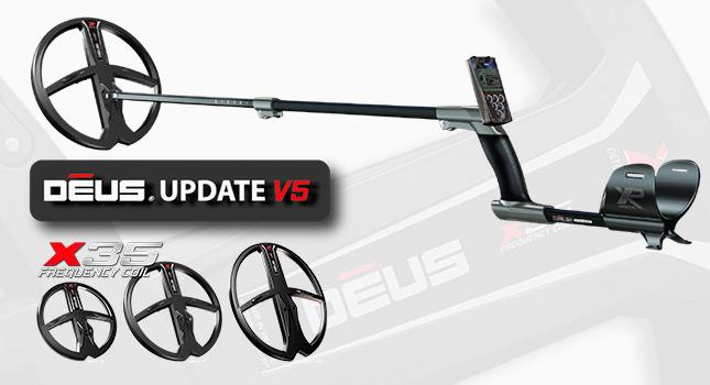 Actualización a la versión V5 del XP Deus