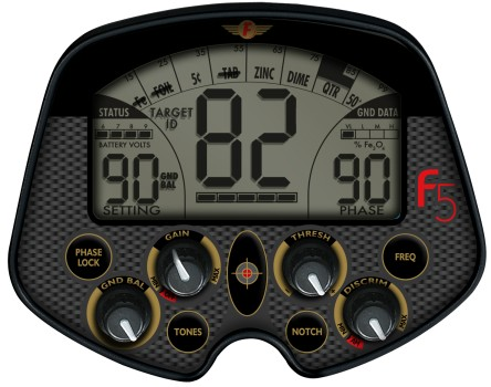 Detector de metales Fisher F5 Pro