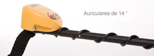 Detector de metales Garrett Ace 250 auriculares