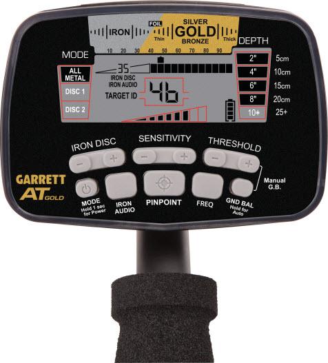 Detector de metales Garrett AT Gold