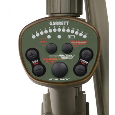 Panel detector de metaes Garrett ATX