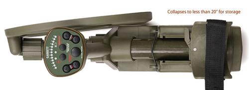 Detector de metales Garret ATX recogido
