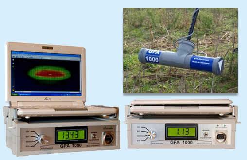 Detector de metales KTS - Gpa 1000