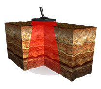 Tierra mineralizada detector Deephunter