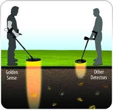 Detector de metales Golden Sense para oro