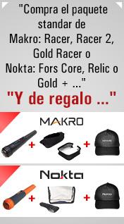 Detectores de metales Makro