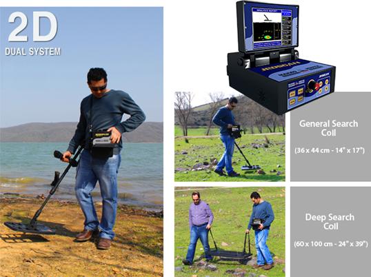 Detector de profundidad Makro Jeoscan 2D