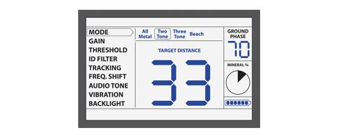 LCD Detector Makro Racer