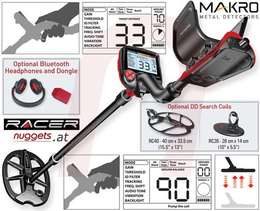 Makro detectors Racer