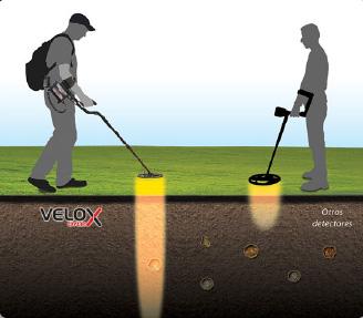 Nokta Velox detector de gran profundidad