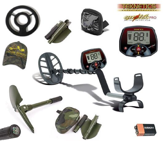 Pack 1 detector de metales Eurotek Pro 11