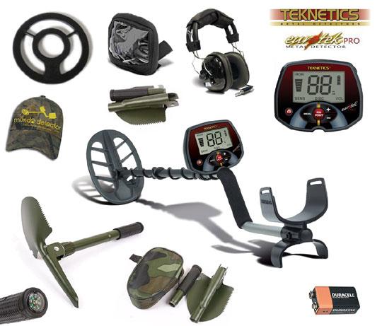 Pack 2 detector de metales Eurotek Pro 11