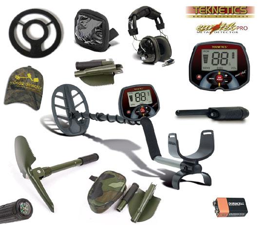 Pack 3 detector de metales Eurotek Pro 11
