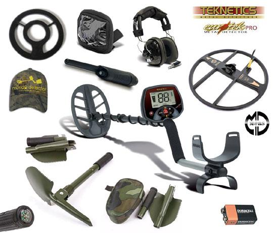 Pack 4 detector de metales Eurotek Pro 11