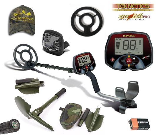 Pack 1 detector de metales Eurotek Pro 8