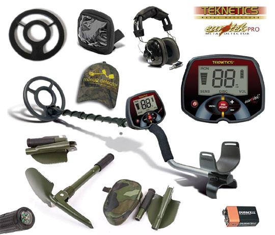 Pack 2 detector de metales Eurotek Pro 8