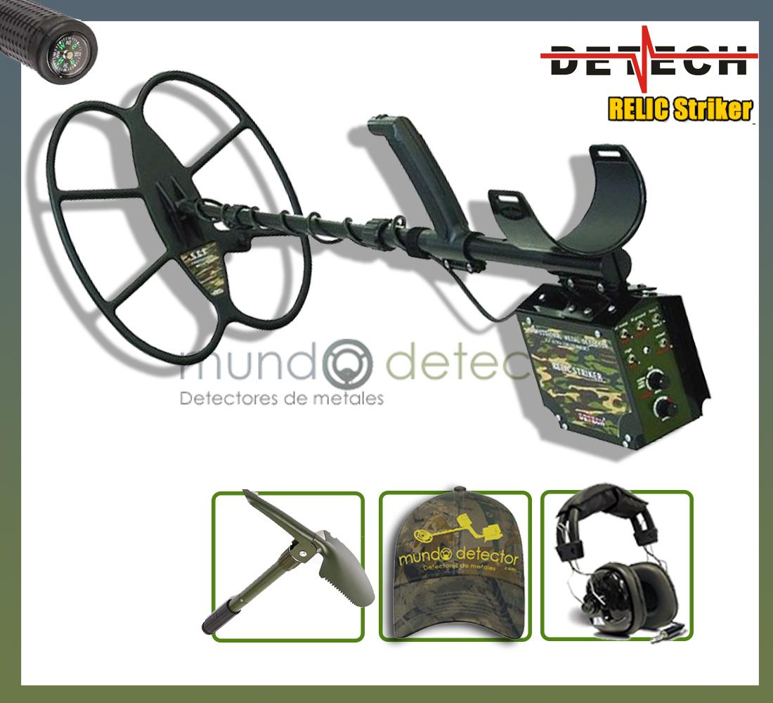Pack 1 detector de metales Detech Relic Striker