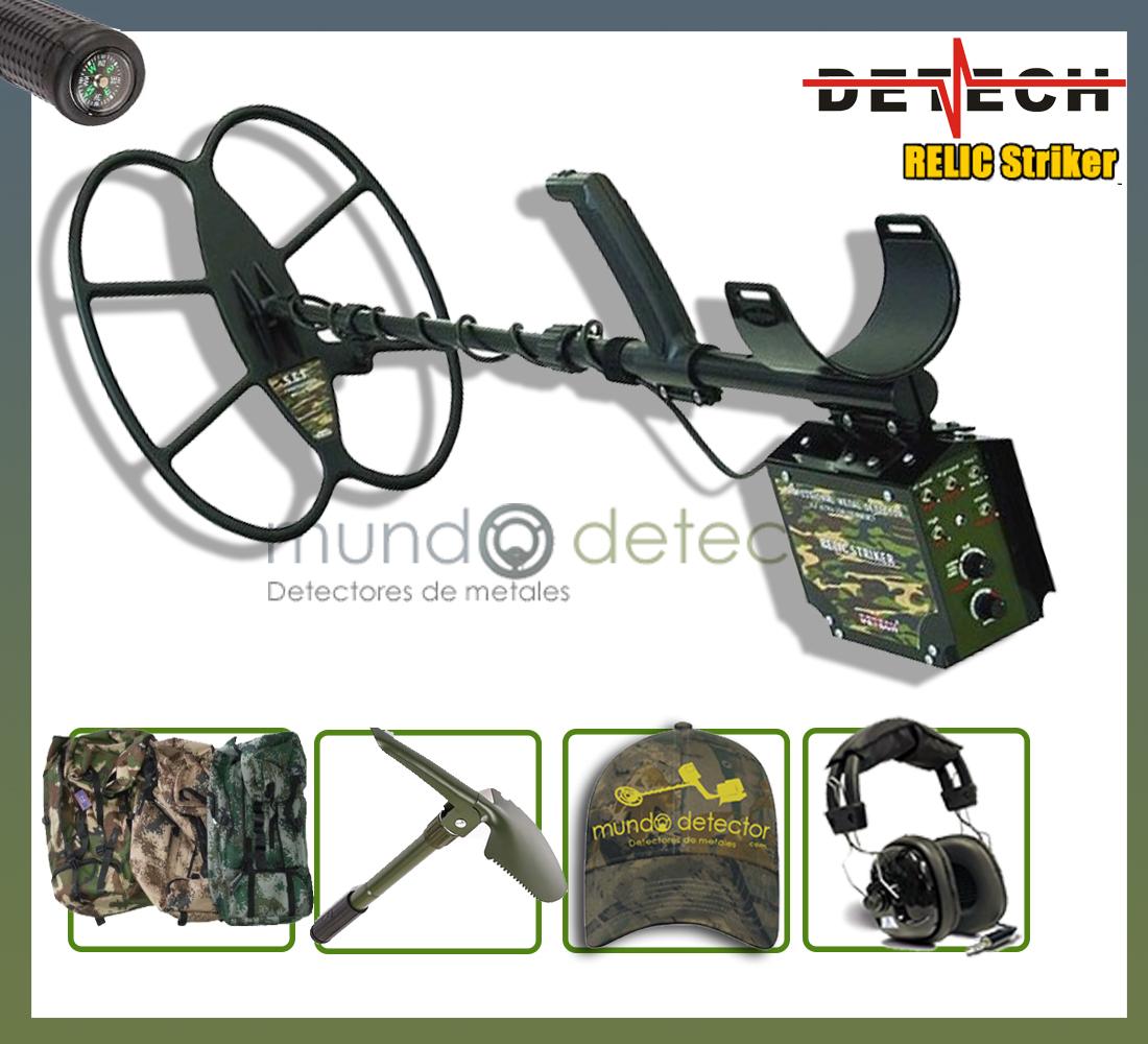 Pack 2 detector de metales Derech Relic Striker