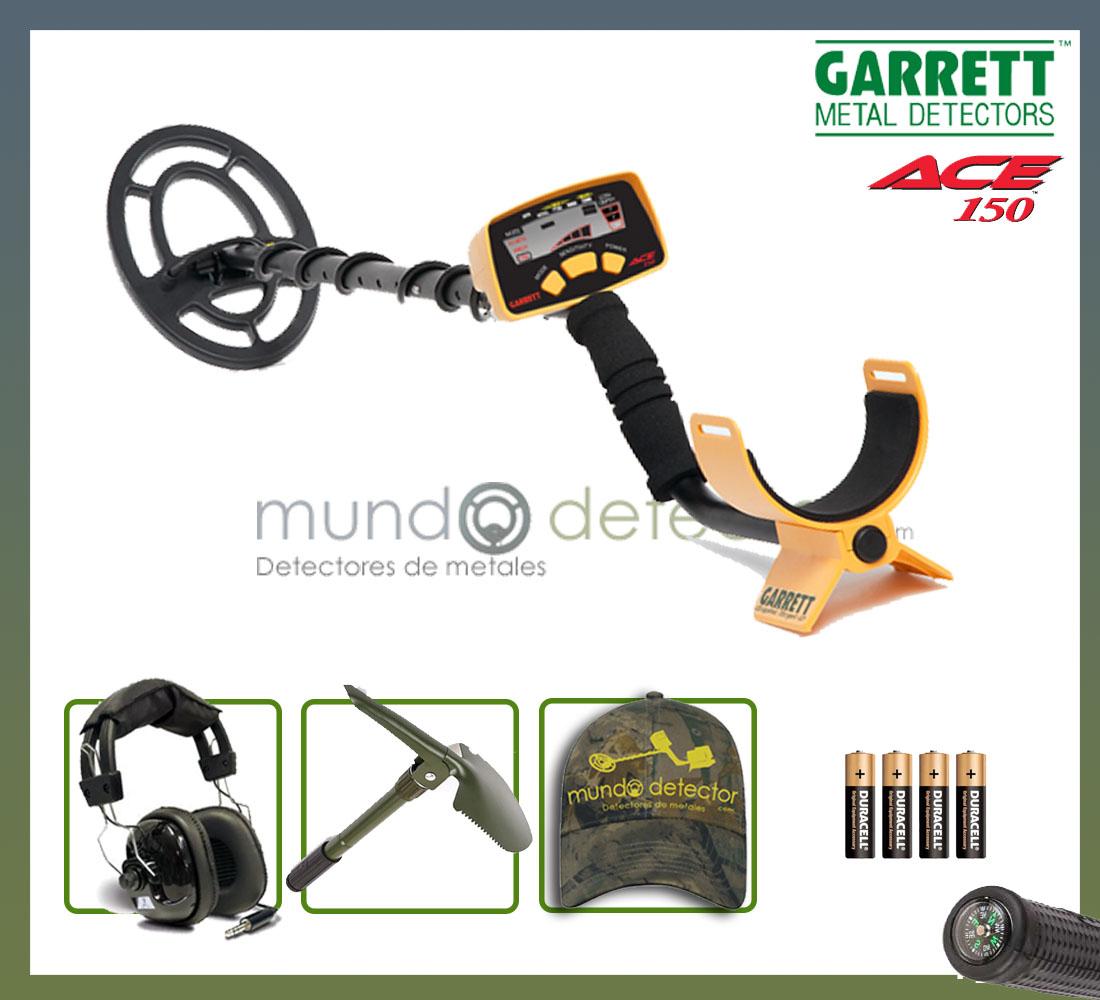 Pack 1 detector de metales GARRETT Ace 150