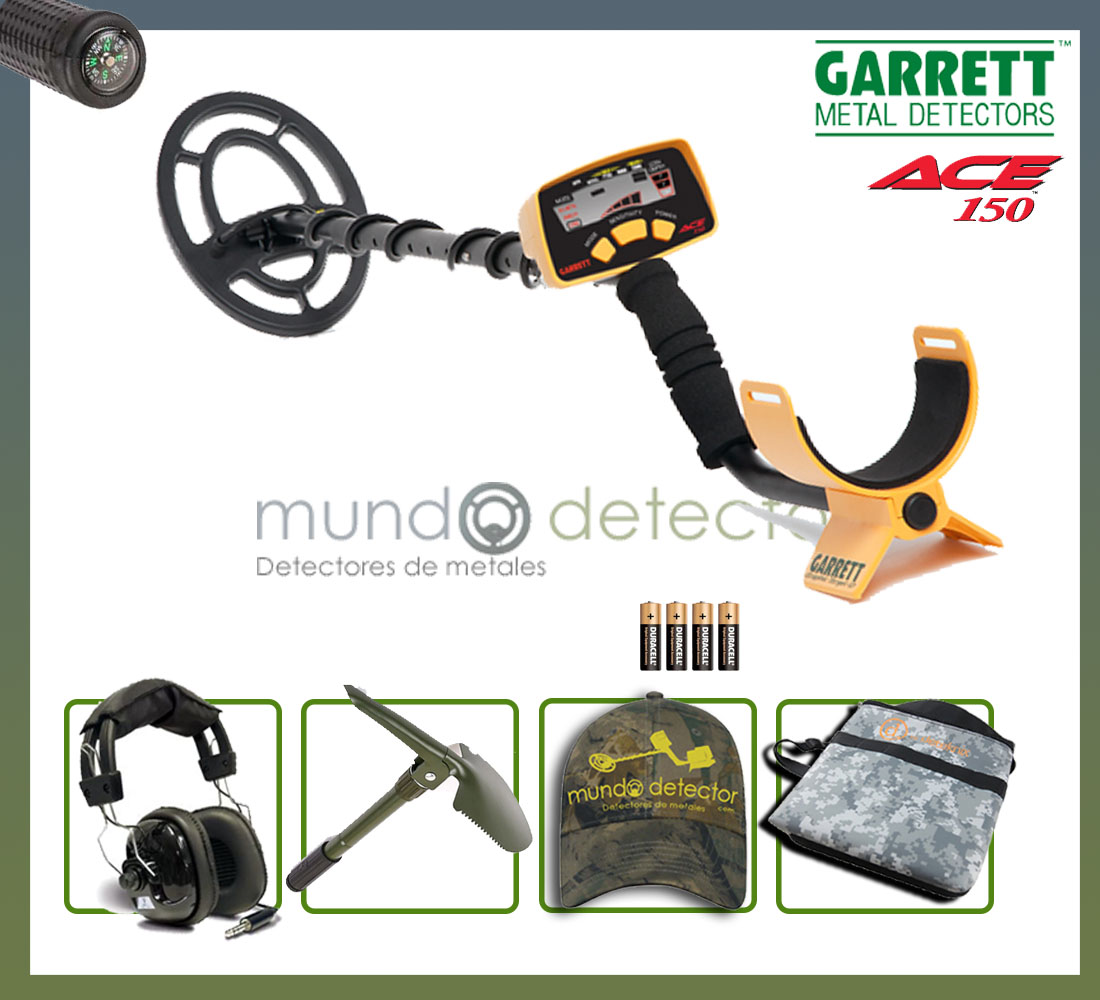 Pack 2 detector de metales Ace 150