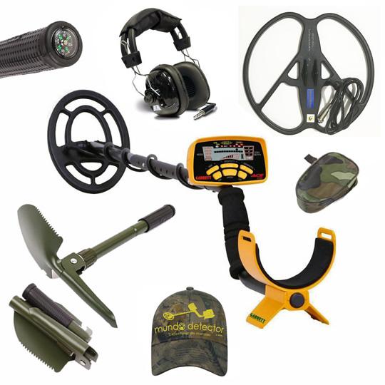 Pack 3 detector de metales Garrett Ace 250