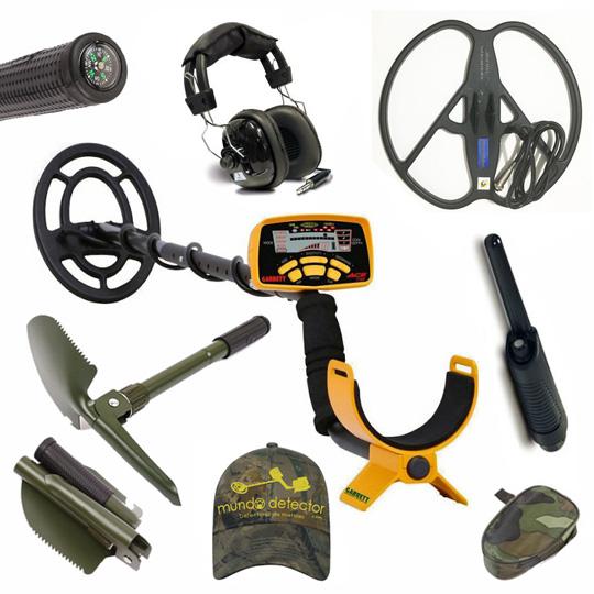 Pack 4 detector de metales Garrett Ace 250