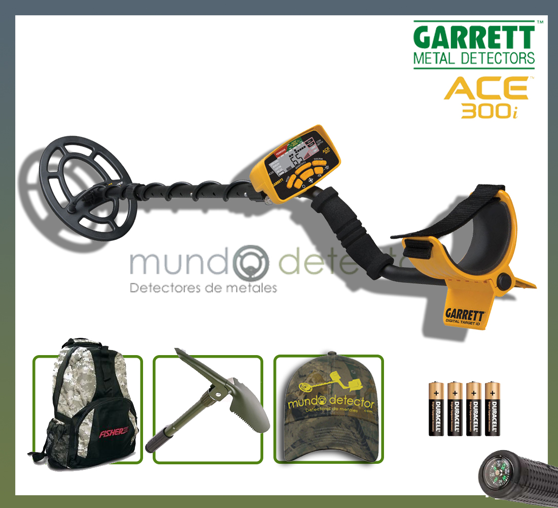Pack 1 detector de metales Ace 300i