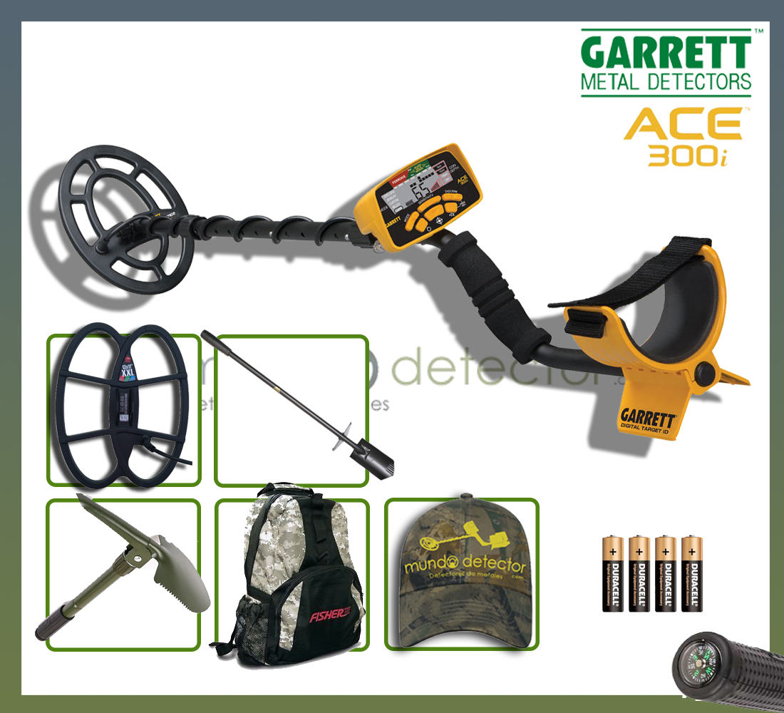 Pack 2 detector de metales Ace 300i