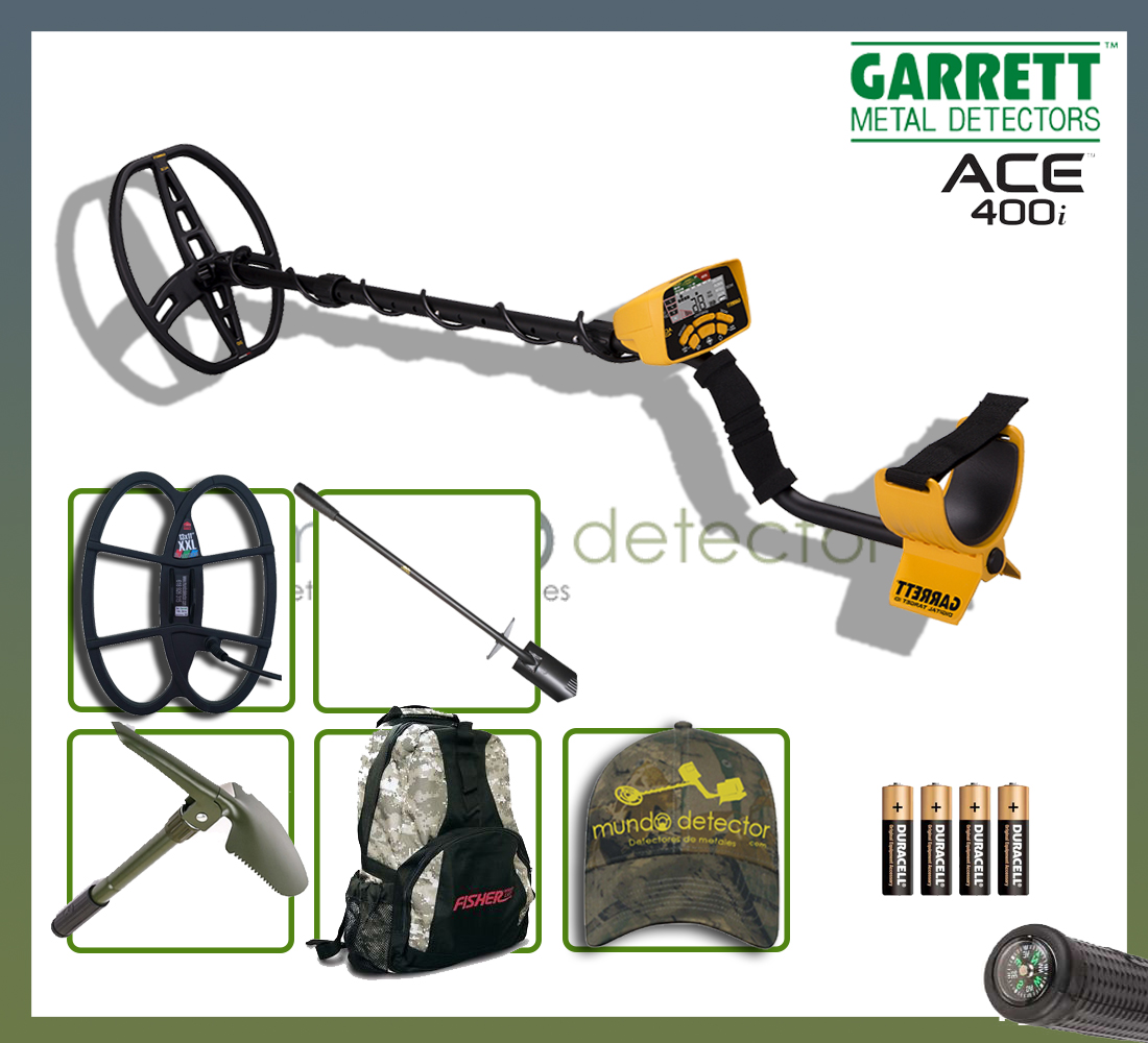 Pack 2 detector de metales Ace 400i