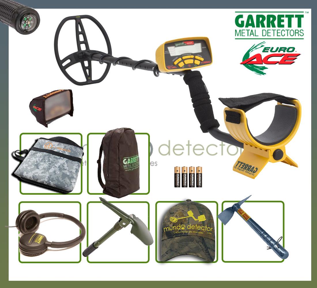 Pack 1 detector de metales EuroAce