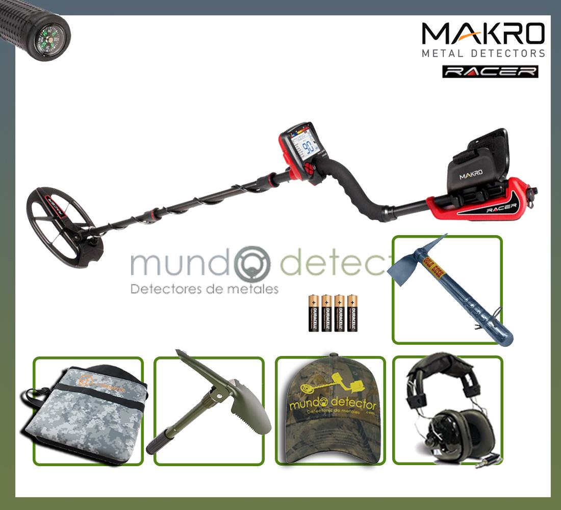 Pack 1 detector de metales Makro Racer