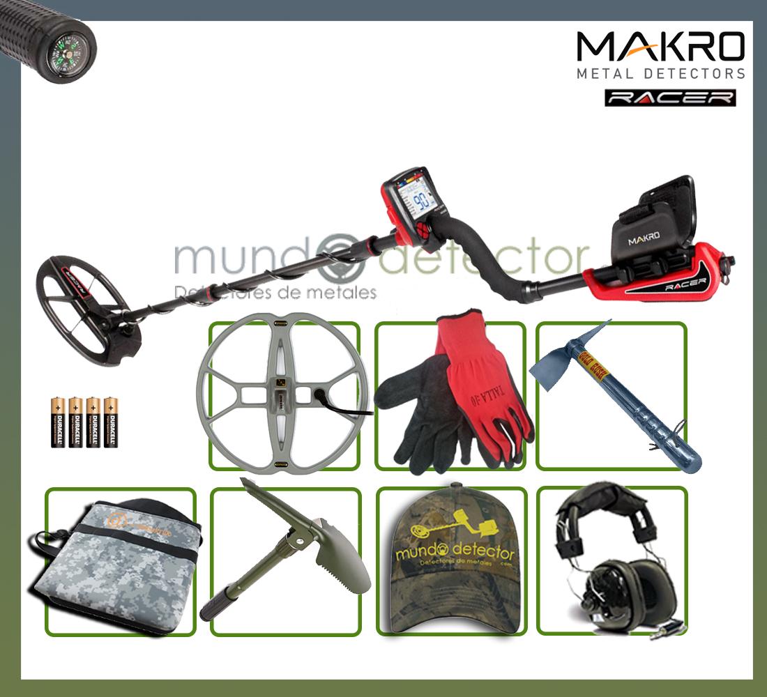Pack 2 detector de metales Makro Racer