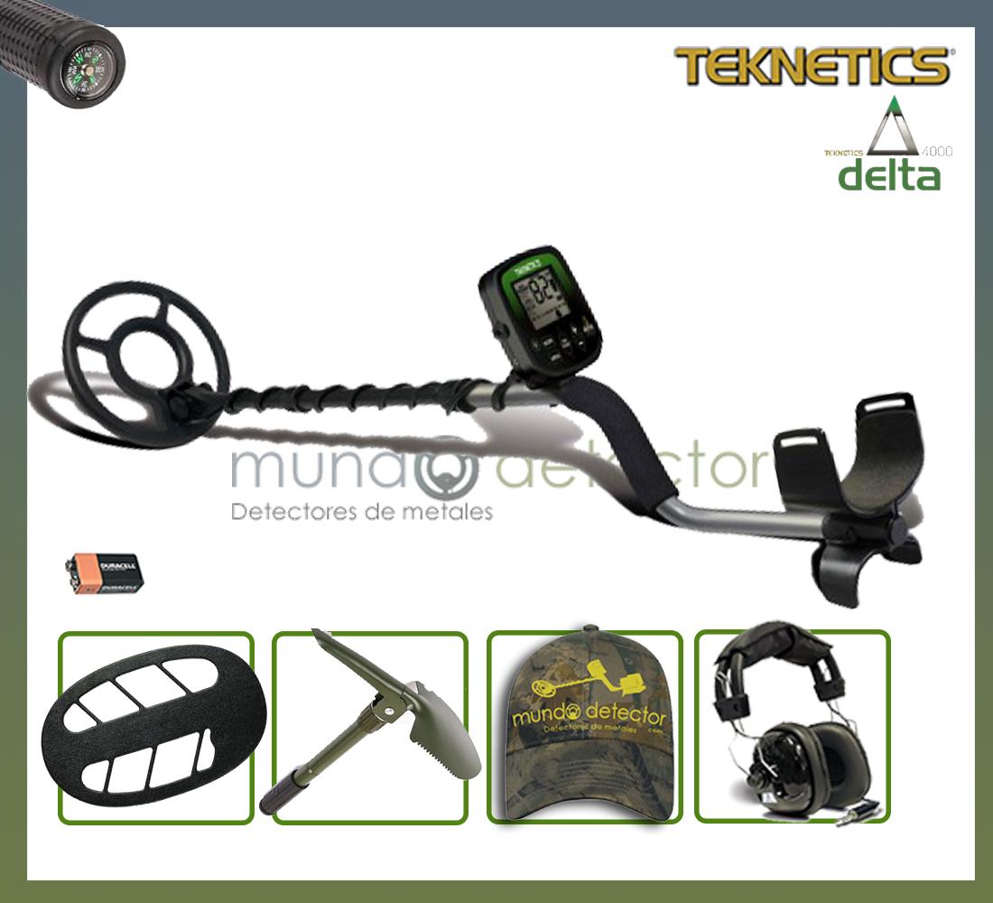 Pack 1 detector de metales Teknetics Delta 4000