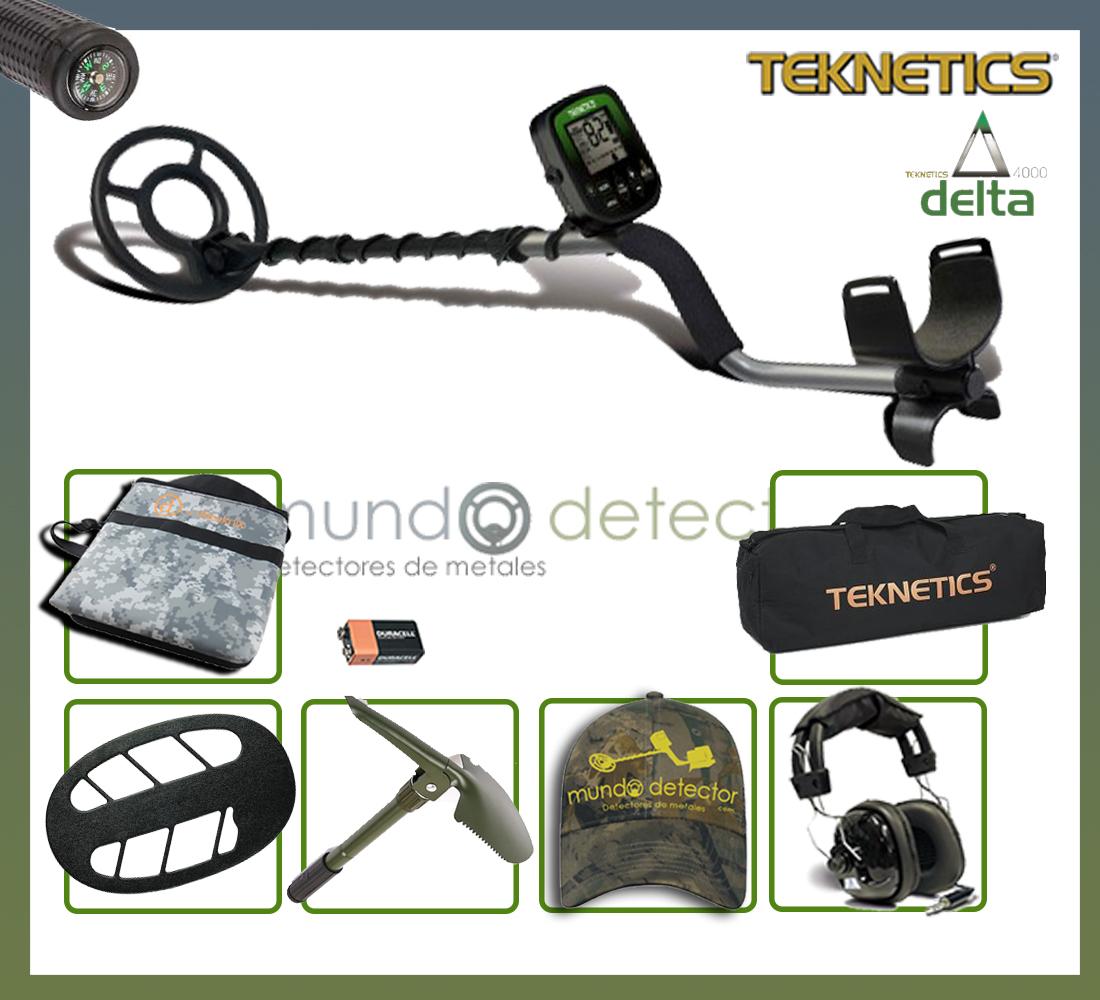 Pack 2 detector de metales Teknetics Delta 4000