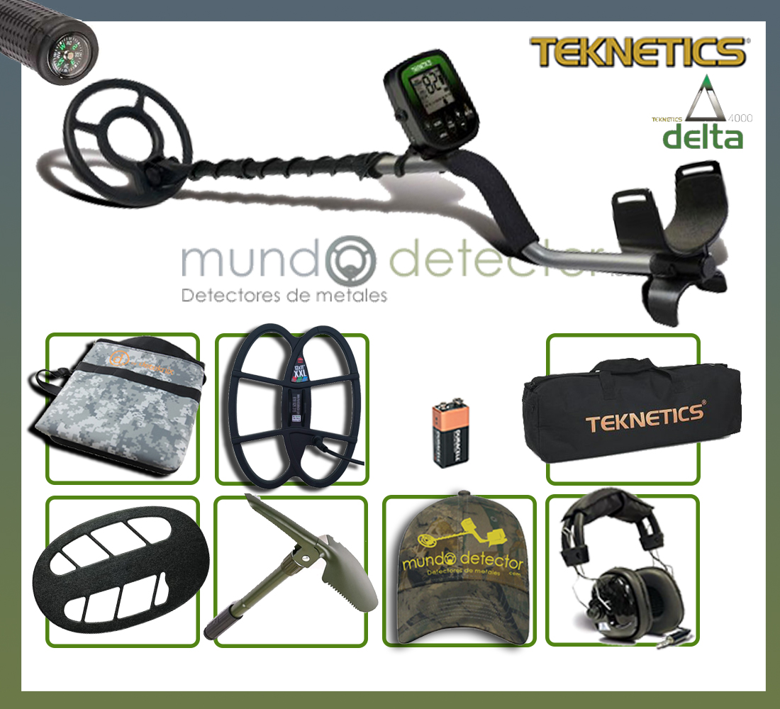 Pack 3 detector de metales Teknetics Delta 4000