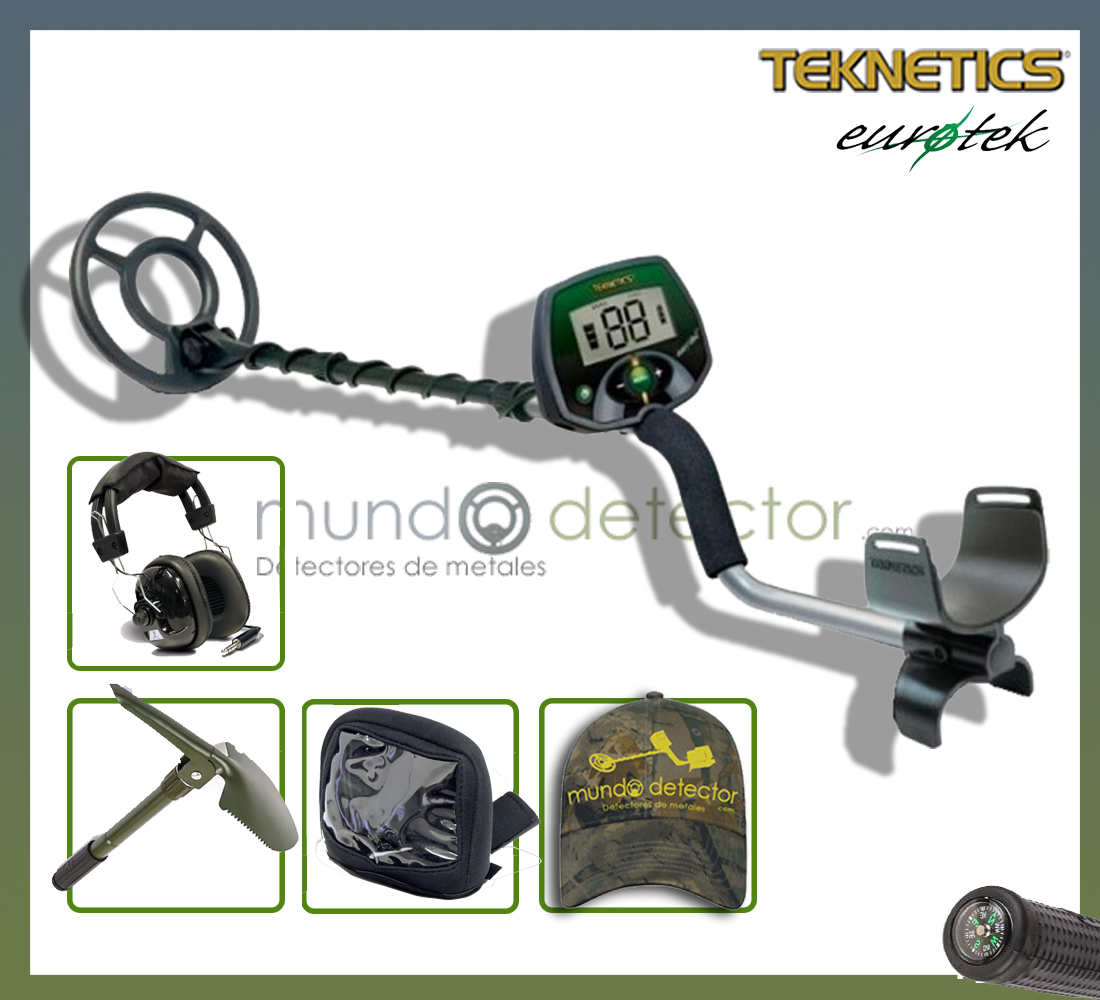 Pack 2 detector de metales Teknetics Eurotek