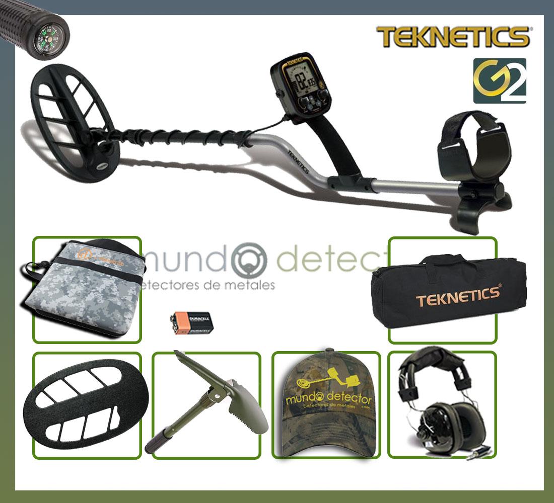 Pack 2 detector de metales Teknetics G2