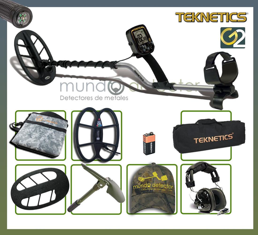 Pack 3 detector de metales Teknetics G2