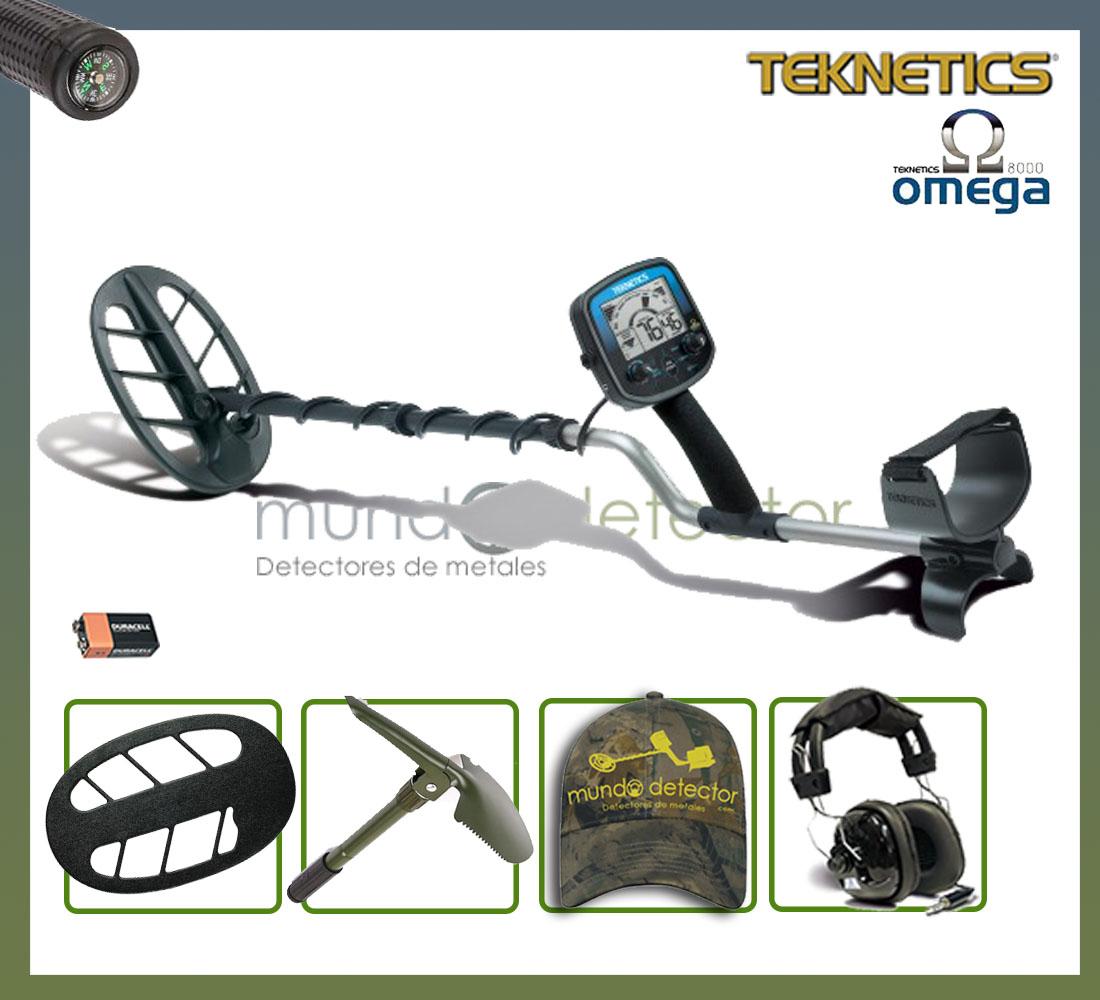 Pack 1 detector de metales Teknetics Omega 8000