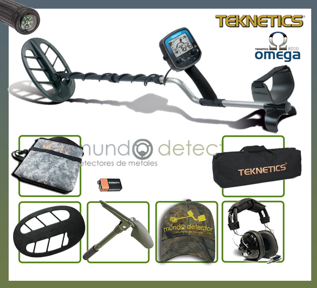 Pack 2 detector de metales Teknetics Omega 8000