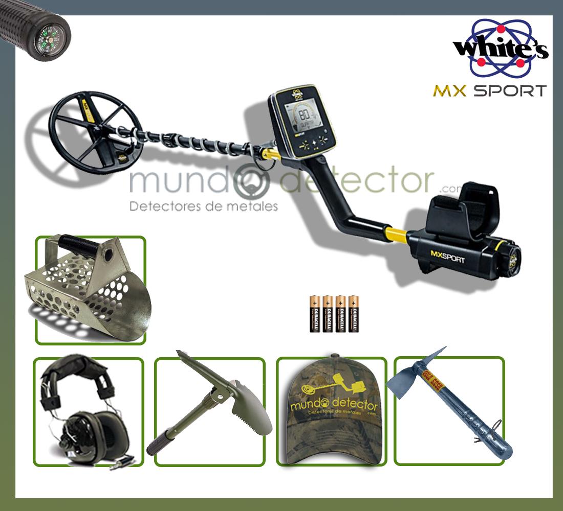 Pack 1 detector de metales White's MX Sport