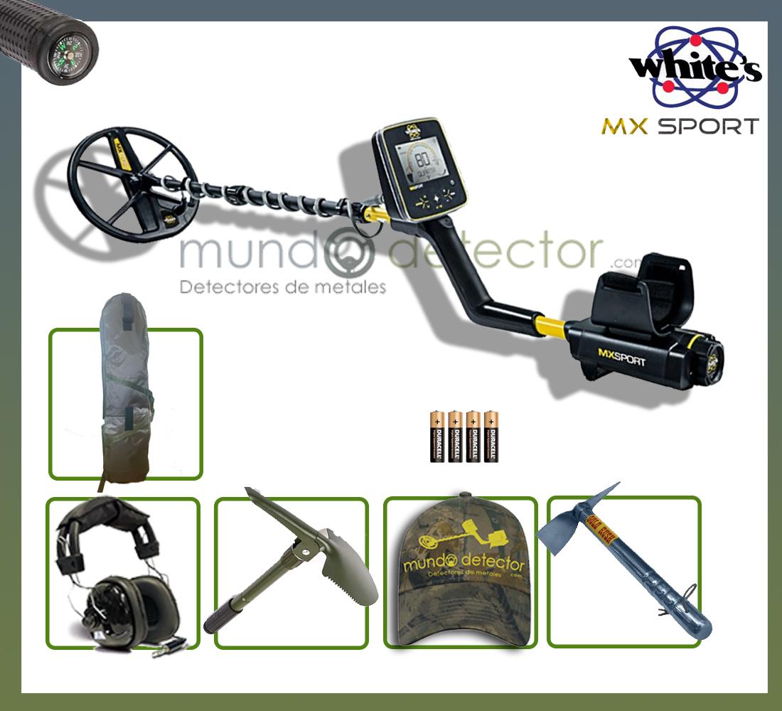 Pack 2 detector de metales White's MX Sport