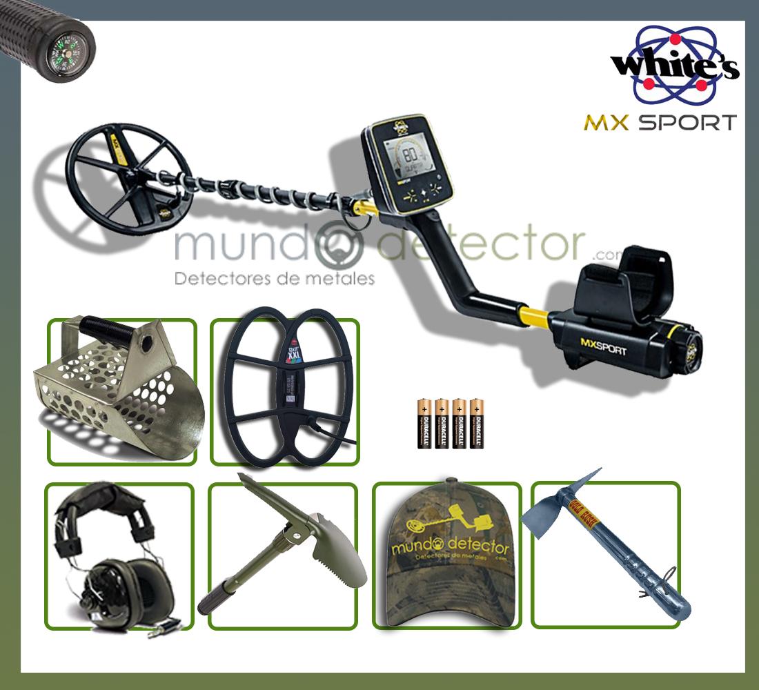 Pack 3 detector de metales White's MX Sport
