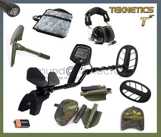 Pack 1 detector de metales Teknetics T2