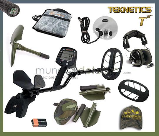 Pack 2 detector de metales Teknetics T2