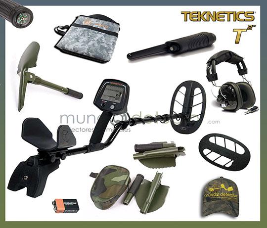 Pack 3 detector de metales Teknetics T2