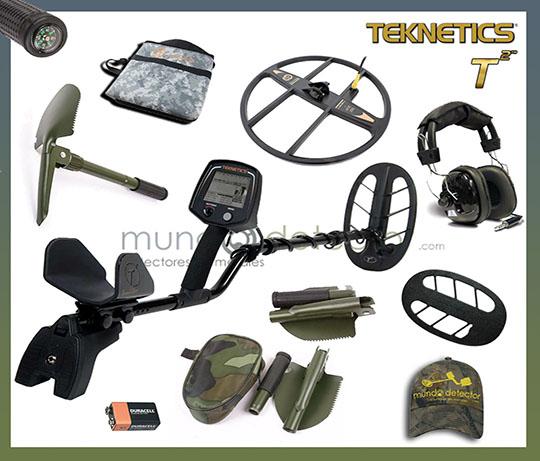 Pack 4 detector de metales Teknetics T2